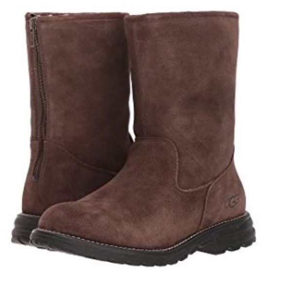 30760662556 New Ugg Langley Chocolate Suede boots 🔥SALE🔥Sz 7